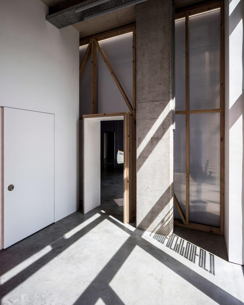 Modern Industrial-Style Workspaces