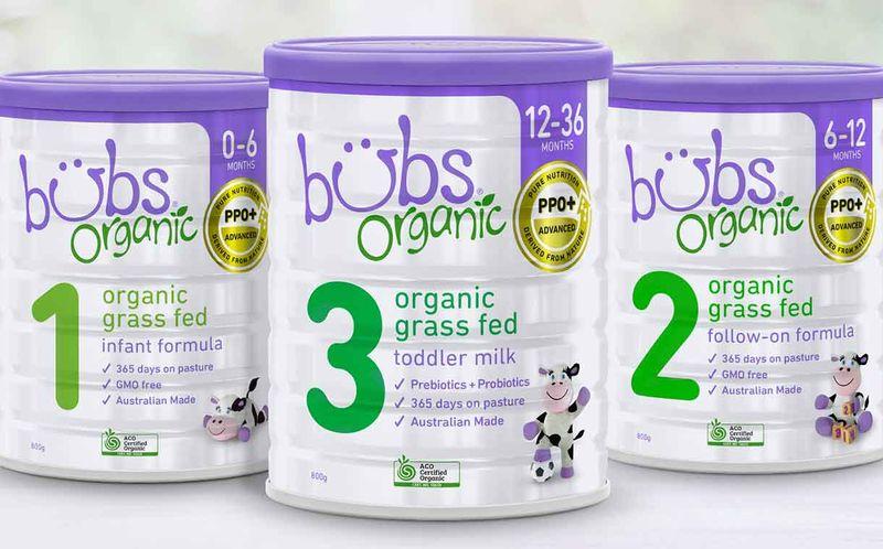 Grass-Fed Milk Baby Formulas