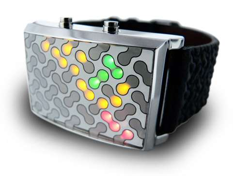 Multi-Colored Animated Watches