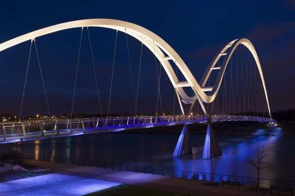 Blue-Lit Bridges