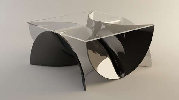 Liquid Metal Furniture
