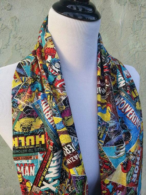 Superhero Infinity Scarves