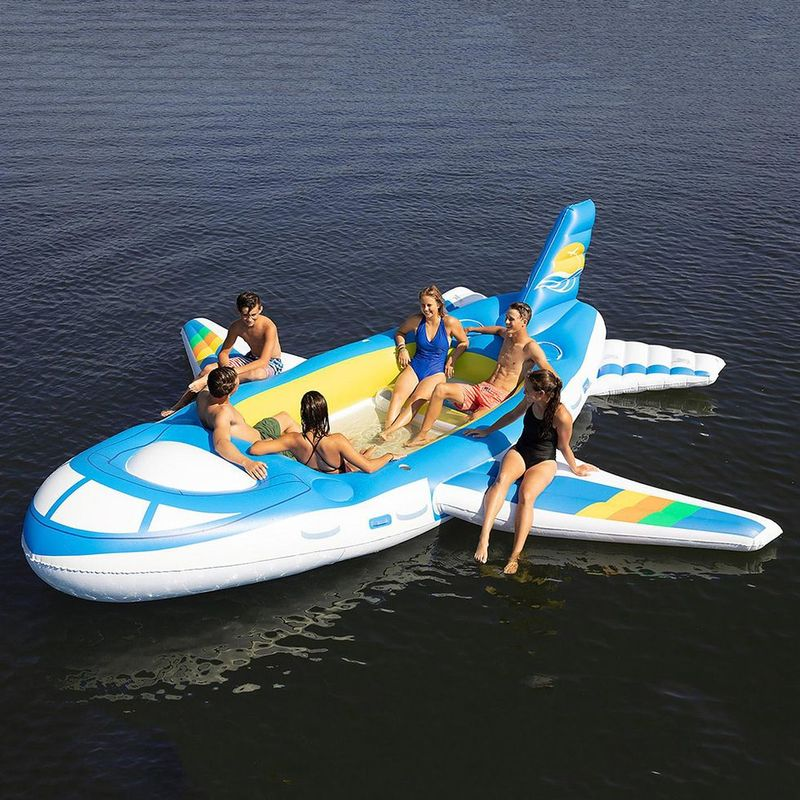 Inflatable Airplane Pool Floats