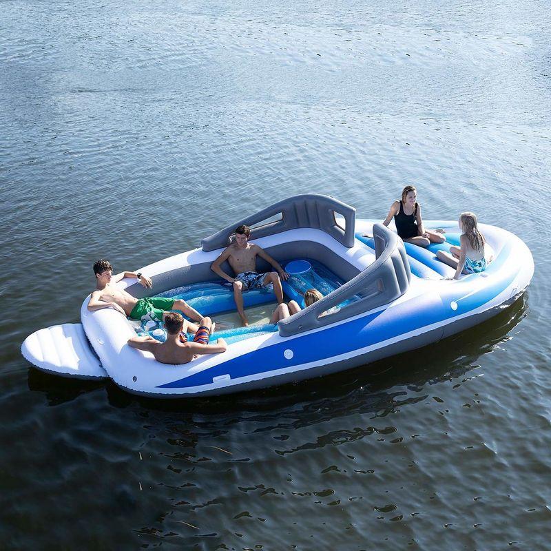 Inflatable Speedboat Floats