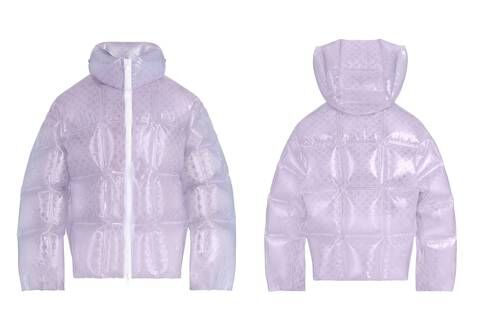 Inflatable Monogram Outerwear - Louis Vuitton Launches a New Air-Filled Gilet and Blouson (TrendHunter.com)