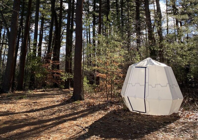 Inflatable Origami Shelters