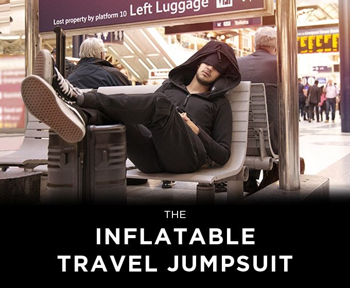 Inflatable Travel-Ready Onesies