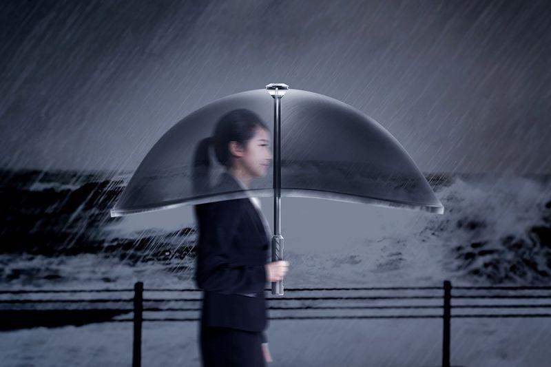 Innovative Inflatable Umbrellas