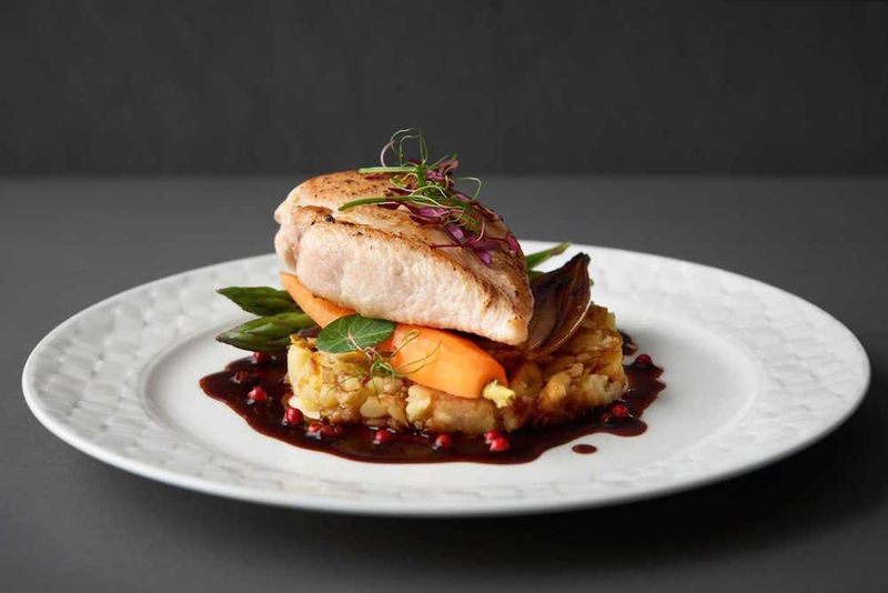 Farm-to-Table Airline Food