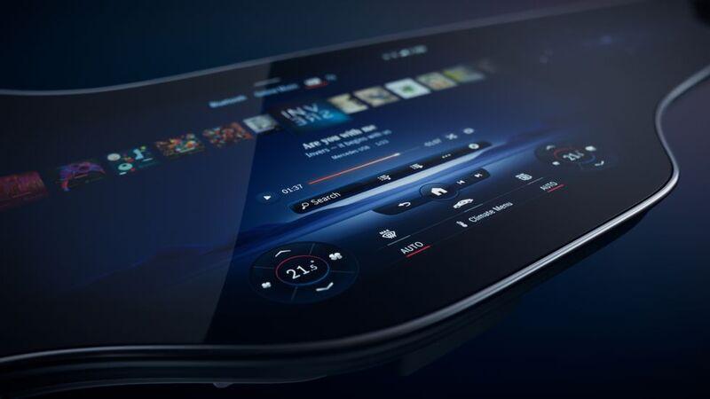Hyperscreen Infotainment Displays
