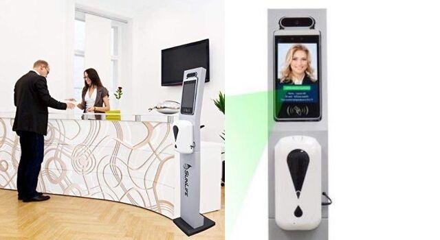 Non-Contact Reception Health Kiosks