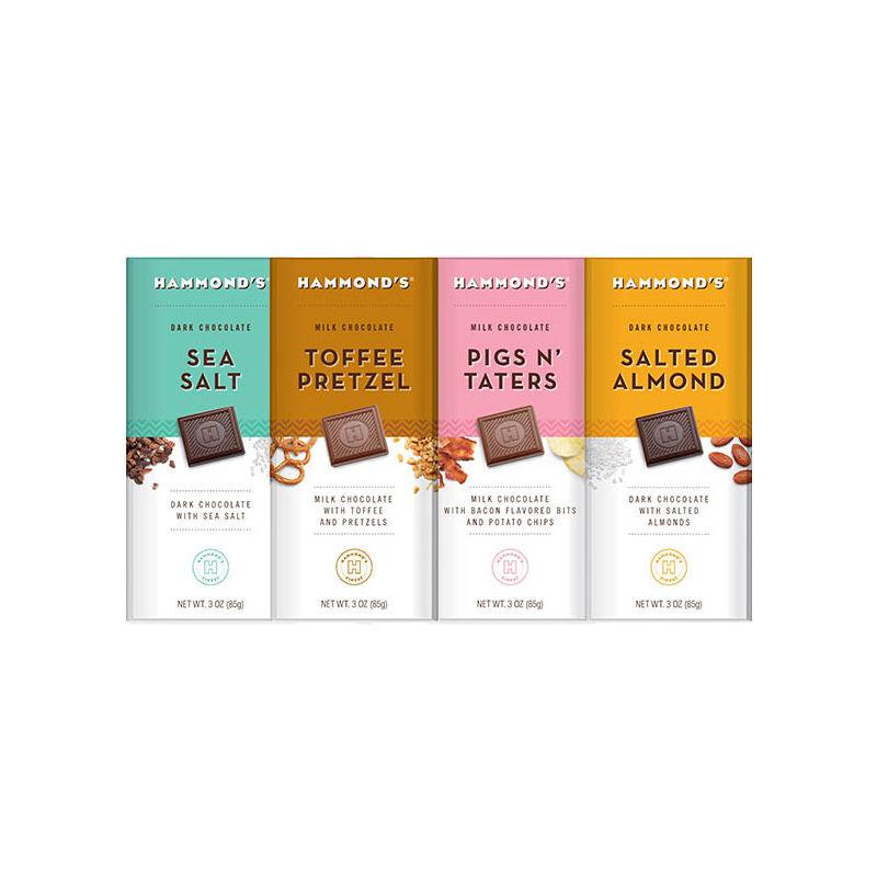 Creatively Infused Chocolate Bars