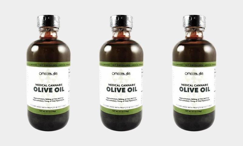 Medicinal Marijuana Olive Oils
