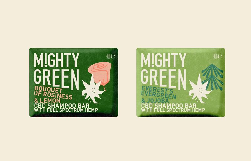 CBD-Infused Shampoo Bars