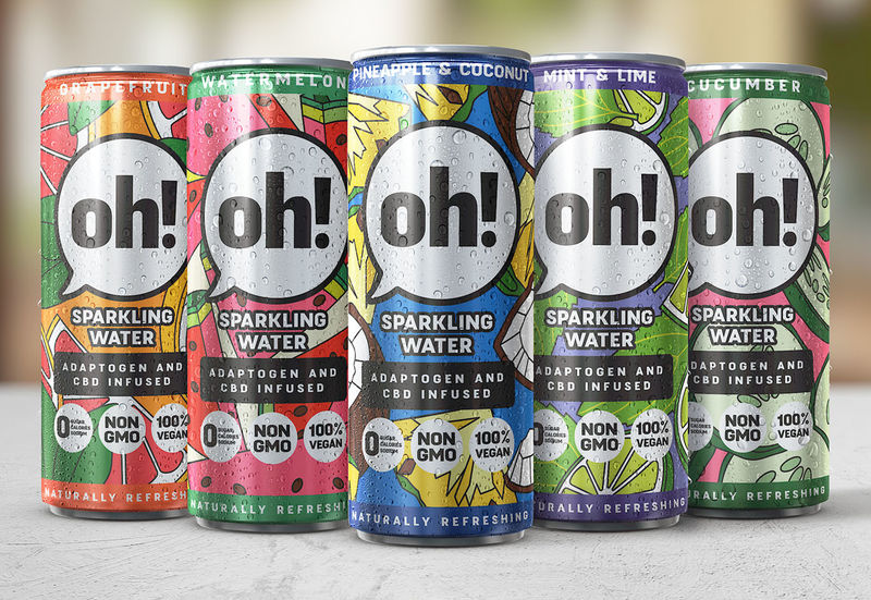 CBD-Infused Sparkling Beverages