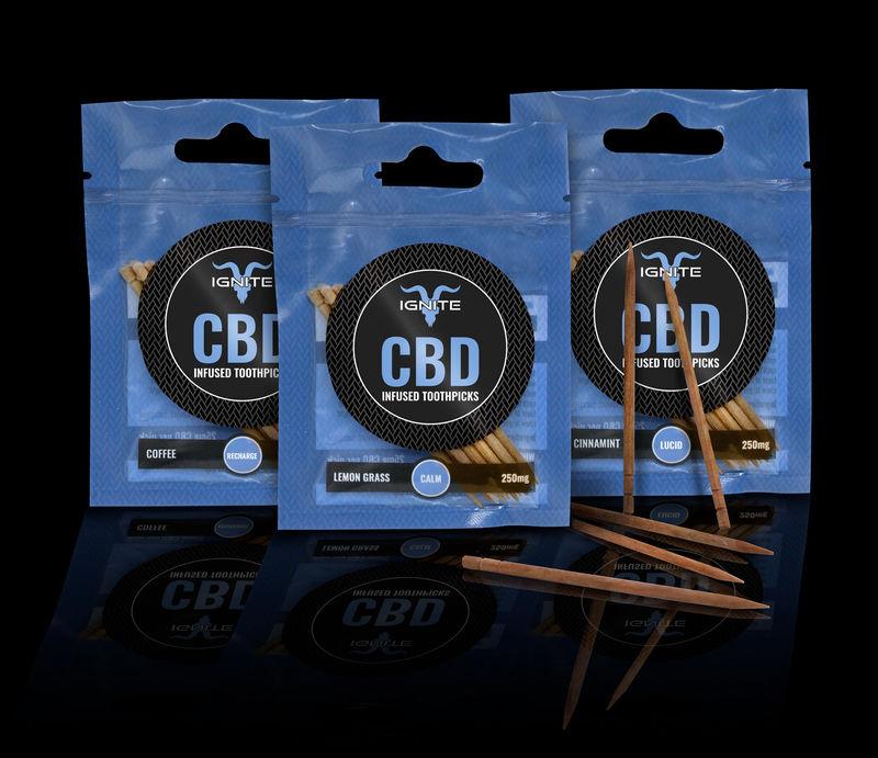 CBD-Infused Toothpicks