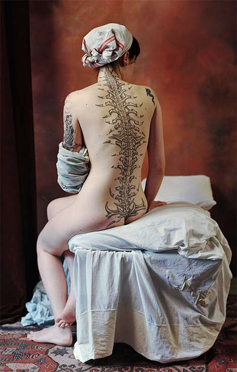 Spinal Cord Tattoos