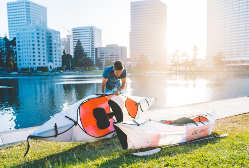 Origami-Inspired Kayaks