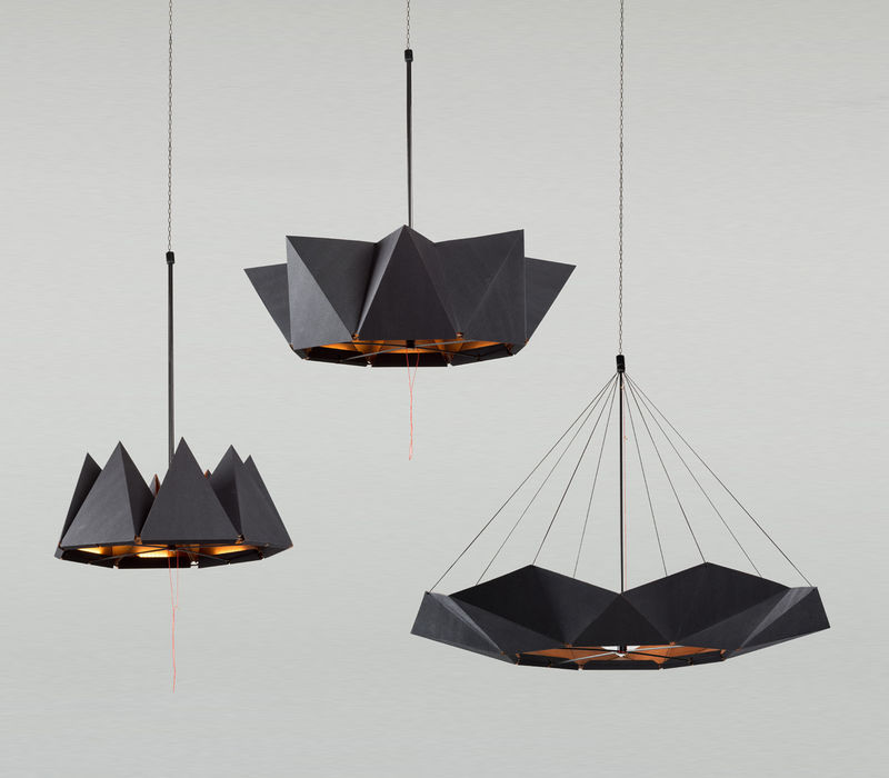 Organically Inspired Moving Lamps