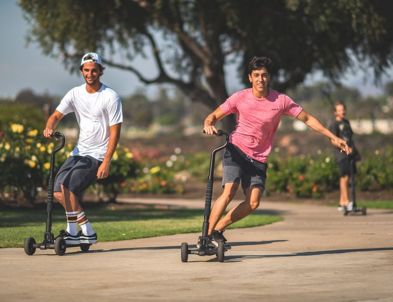 Hybrid Electric Skateboard Scooters
