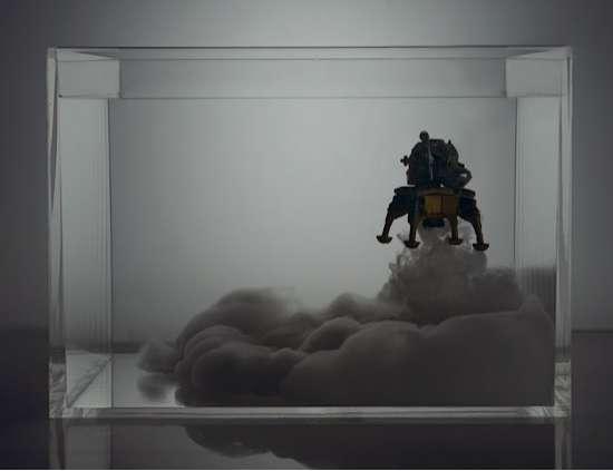 Submerged Spaceship Art
