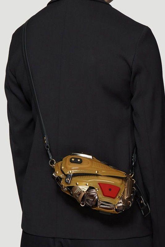 Armour-Like Unisex Crossbody Bags