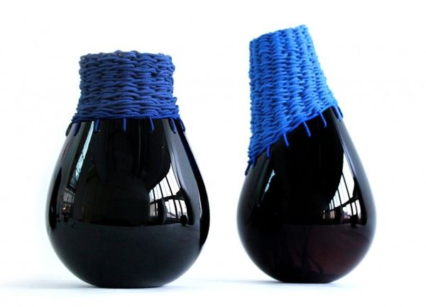 Knitted Glass Vessels