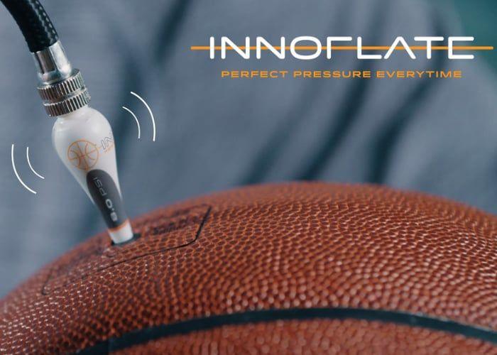 Self-Regulating Basketball Inflators