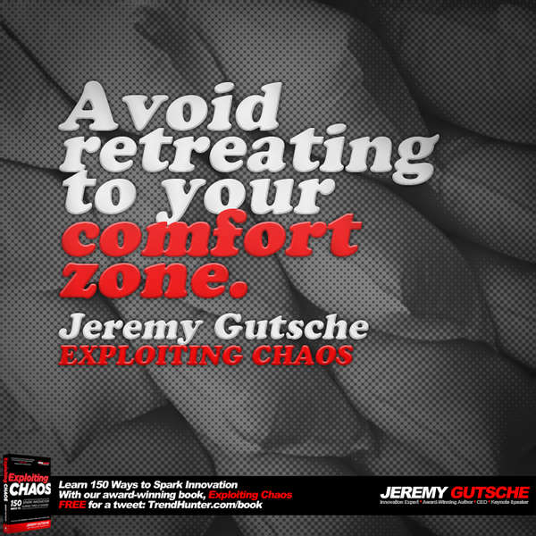 Avoid Retreating to Your Comfort Zone