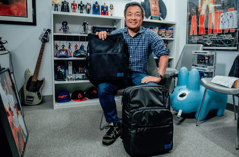 Comic Book-Friendly Backpacks - Jim Lee and HEX Work on an Innovative Backpack for Comic Book Fans (TrendHunter.com)