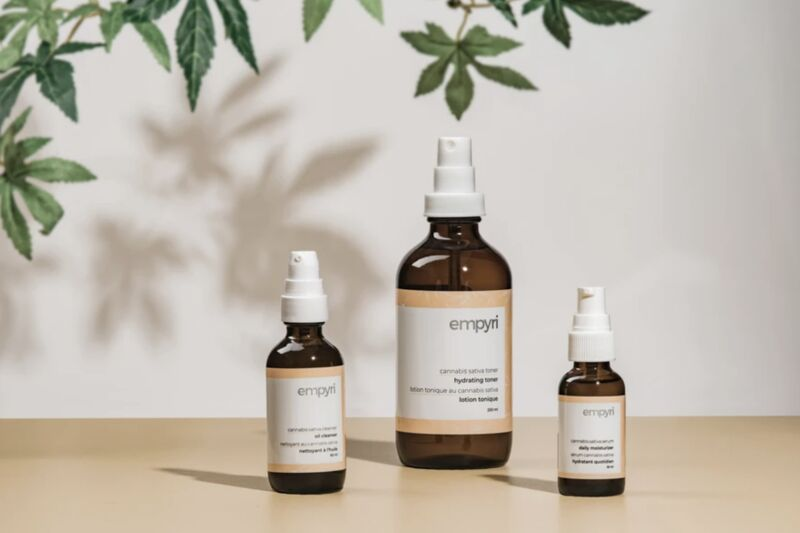 Upcycled Cannabis Root Skincare