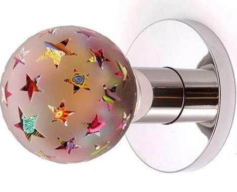 Glass Globe Doorknob glass globe doorknobs : hideyuki nakayama door handle