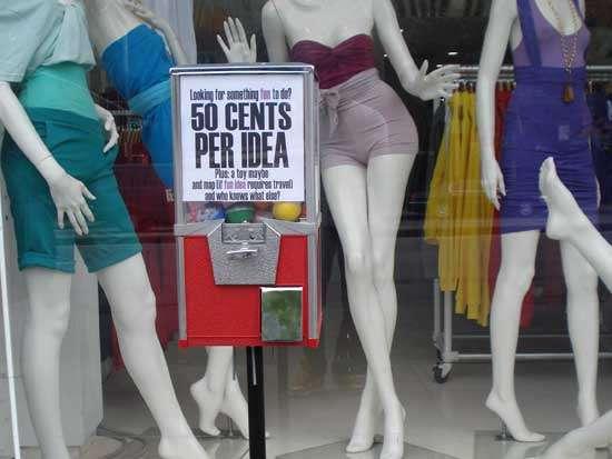Innovative Idea Vending