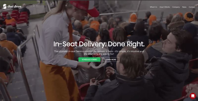 Arena In-Seat Service Solutions