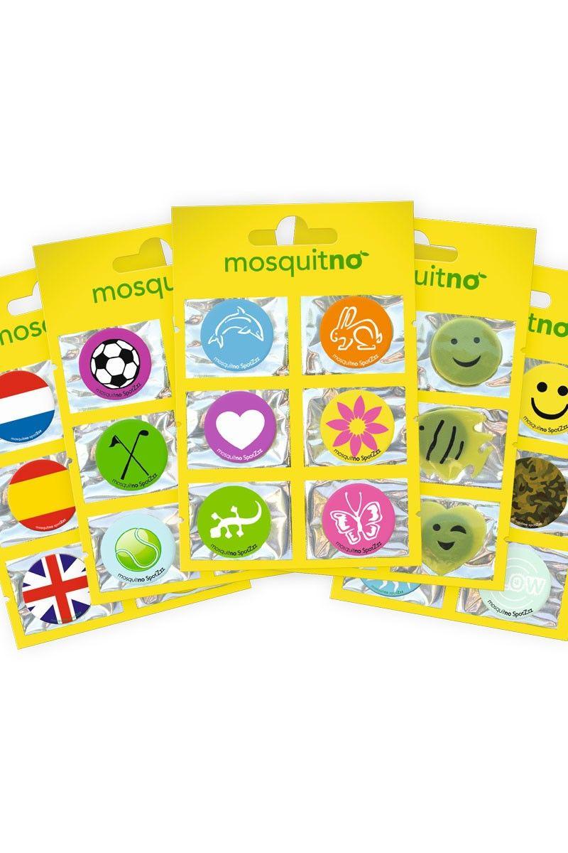 Kid-Safe Citronella Stickers