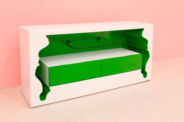 Vibrant Inverted Furniture