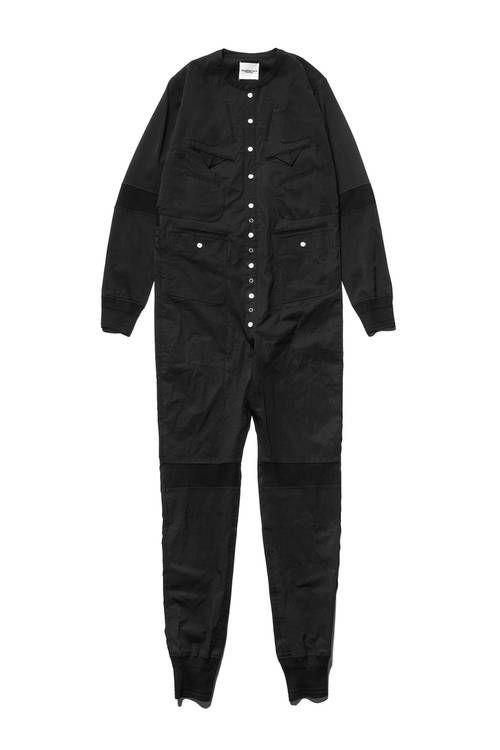 All-Black Full Jumpsuits