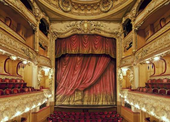 Celebrity theater stage