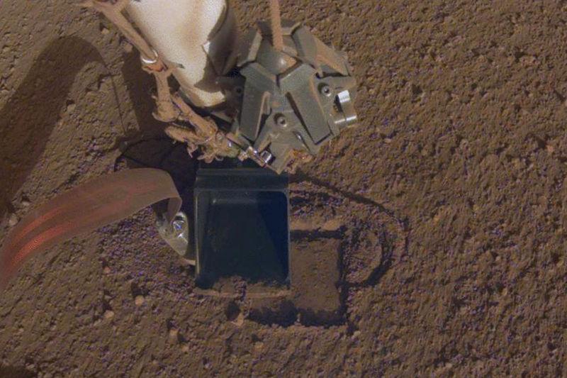 Spacecraft Digging Missions