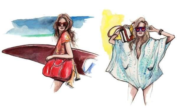 Youthful Glamazon Sketches Inslee Haynes Fashion