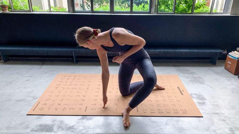 Oversized Instructional Workout Mats