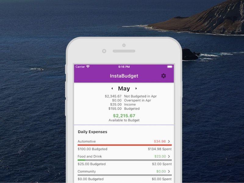 Savings Goal Finance App
