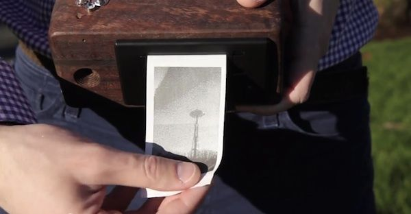 Receipt Paper Polaroids