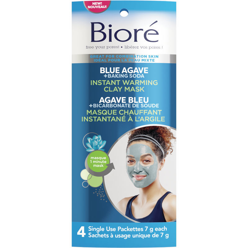 Instant Warming Clay Masks