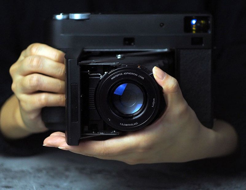 Old-Fashioned Instant Cameras