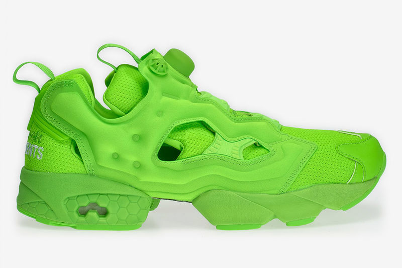 Florescent Chunky Sneakers