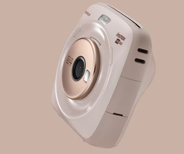 Nostalgic Tech-Infused Instant Cameras