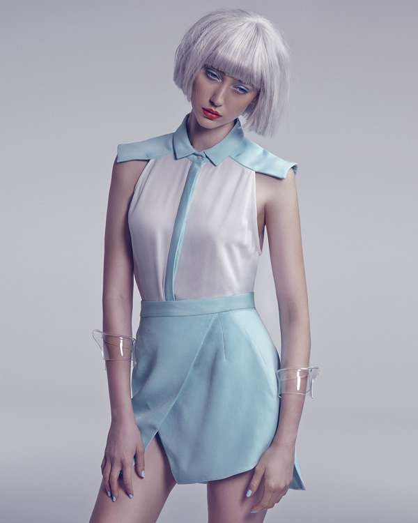 Plasticized Pastel Editorials