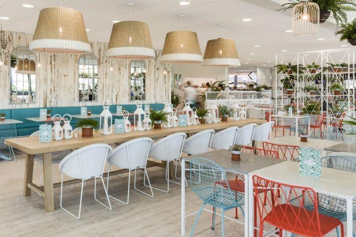 Vibrant In-Store Restaurants