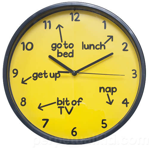 Instructional Wall Clocks